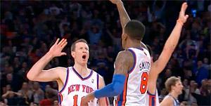 Les Knicks partent à la conquête de l'Ouest