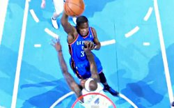 Top 10 : KD affiche salement Harrington, Griffin et Ibaka infranchissables