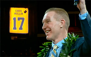 Les Warrios rendent hommage à Chris Mullin