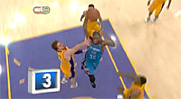 Top 10 : Kevin Durant lâche le dunk de la nuit sur Pau Gasol