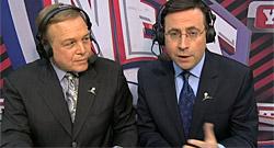 Accrochage à l'antenne entre deux commentateurs des Nets