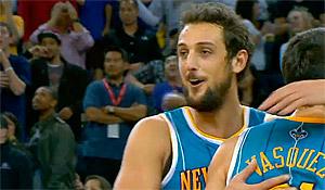 Les Clippers s'intéressent à Marco Belinelli