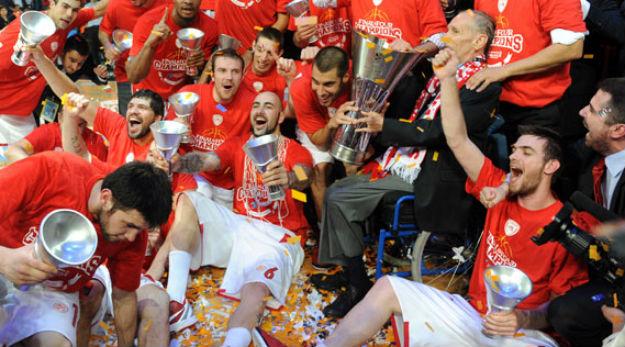L'Olympiacos braque le CSKA et remporte l'Euroleague