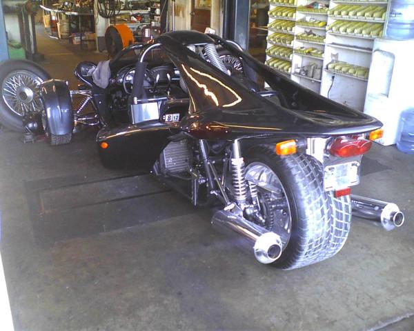 Ben Wallace aime les tricycles à moteur