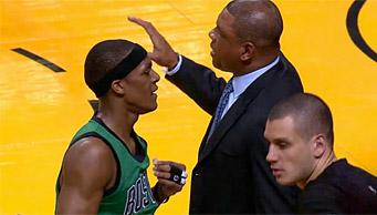 Doc Rivers pas satisfait de la gestion de fin de match de Rondo