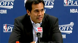Erik Spoelstra sur le point d'être prolongé par le Miami Heat