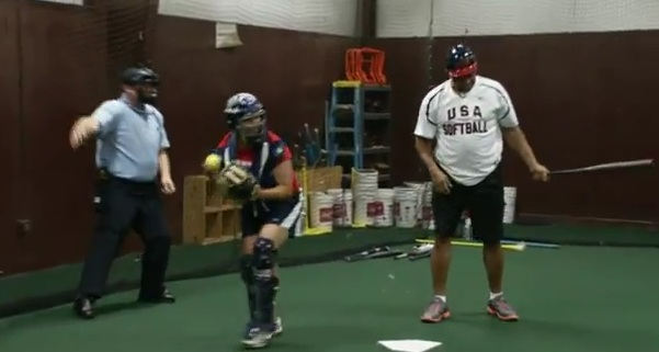 Charles Barkley est nul en softball