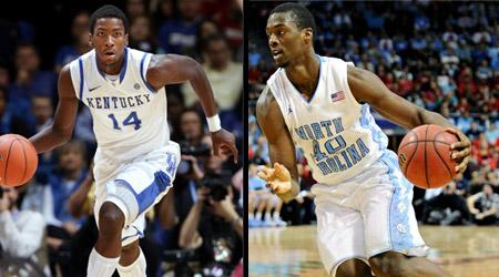 Harrison Barnes et Mike Kidd-Gilchrist, les deux meilleurs 3 de la draft ?