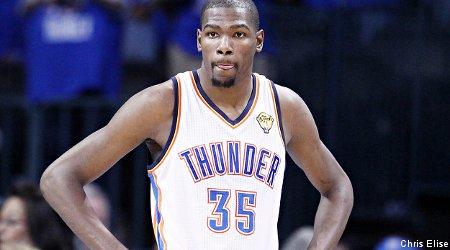 Kevin Durant et le Thunder ne font pas de cadeau au Jazz