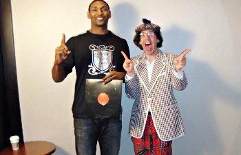 Metta World Peace est fan de Kobe, Iverson et Shaq... les rappeurs !
