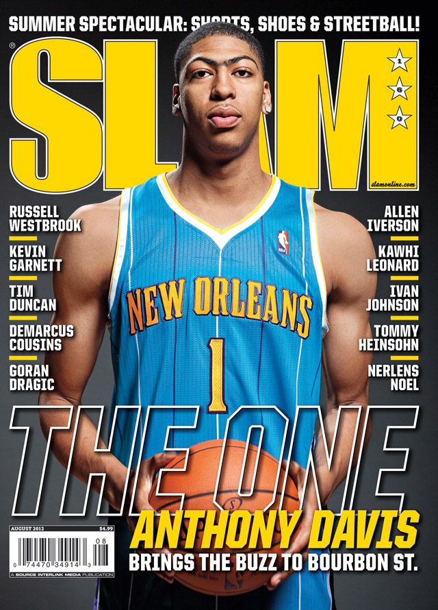 SLAM met Anthony Davis sur sa couverture