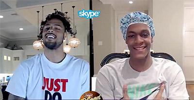 Le clash Rondo vs Chandler sur Skype