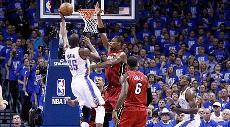 OKC empoche le game 1 grâce au duo Durant-Westbrook