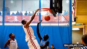 All American Slam Dunk Contest : Andrew Wiggins lâche un dunk de fou