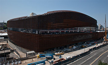 Le Barclays Center déjà rongé par la rouille ?