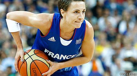 La 200ème de Céline Dumerc avec l'équipe de France