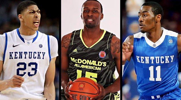 Les recrutements d'Anthony Davis et Shabazz Muhammad mis en doute par les coaches NCAA