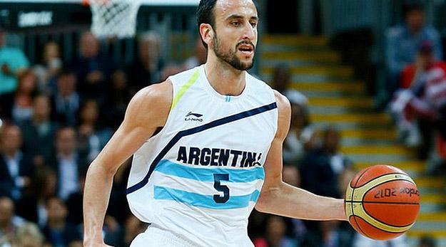 Manu Ginobili présent aux JO avec l'Argentine