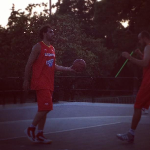 Jorge Garbajosa et Carlos Jimenez en équipe nationale 3x3