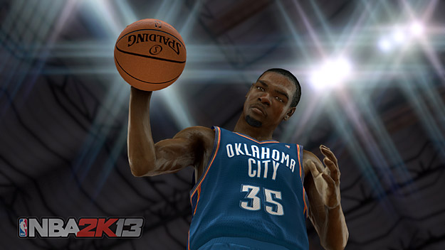 NBA 2K13 : Kevin Durant au top, Melo plus fort que Rondo ?
