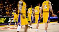 Vidéo de présentation des nouveaux Lakers version 2012-2013 dans NBA 2K