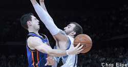 L'ex-Knick Andy Rautins vers le Thunder