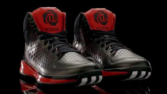 Chaussures Adidas D Rose homme  Noir (Black/Light Grey/Black) xXaNsYVfB