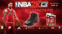Jeu concours NBA 2K13 : les 5 gagnants