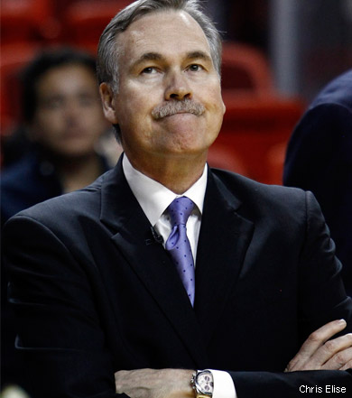 Mike D'Antoni va procéder à des modifications dans son staff