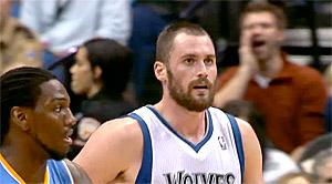 Kevin Love (28, 11 et 7) et les Wolves stoppent la série du Thunder malgré les 63 pts du duo Durant-Westbrook
