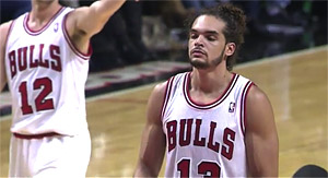 Joakim Noah (23 pts) affamé, George Hill clutch