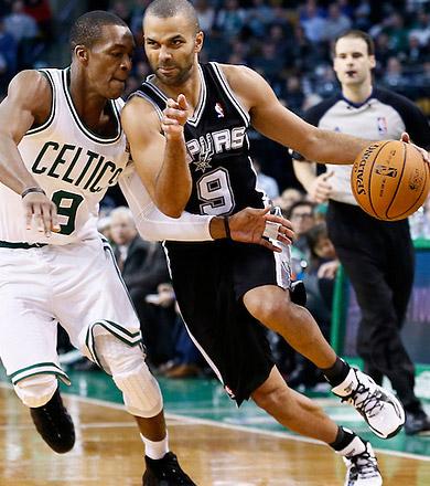 Les Spurs font la loi à Boston, 26 pts pour Parker