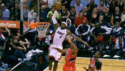 Pas de saga cette année, LeBron James ne participera jamais au concours de dunk