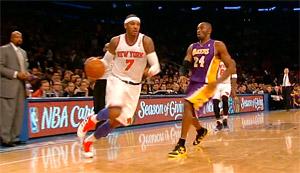 Kobe, Melo et Love préparent-ils leur arrivée à L.A ?