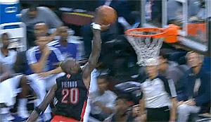 Top 10 : Mike Pietrus plante un gros tomar, les Clippers sont violents