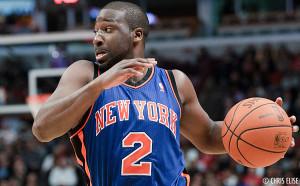 Raymond Felton le meneur de jeu des New York Knicks.