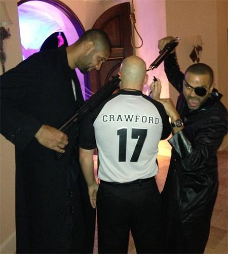 Nouvelle amende pour les Spurs suite à la photo d'Halloween ?