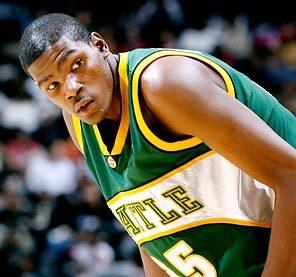 Kevin Durant veut une franchise à Seattle