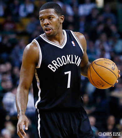 Brooklyn tape New York au Garden, 25 pts pour Joe Johnson