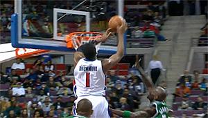 Andre Drummond aurait voulu participer au concours de dunks