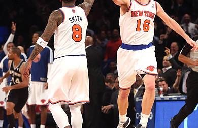 Les Knicks se promènent contre le Jazz sans STAT et Melo