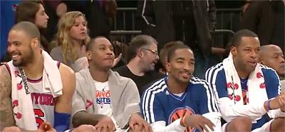 Le banc des Knicks, arme ultime ?