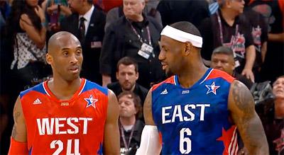 Joueurs du mois : LeBron James et Kobe Bryant récompensés