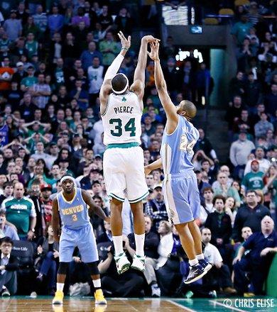 Les Celtics viennent à bout de Denver après trois prolongations