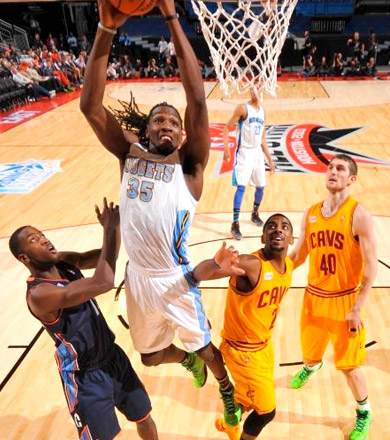 Rising Stars: La Team Chuck l'emporte, Kenneth Faried MVP