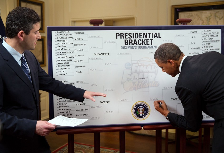 La March Madness NCAA en intégralité sur ESPN America, Barack Obama vote Indiana