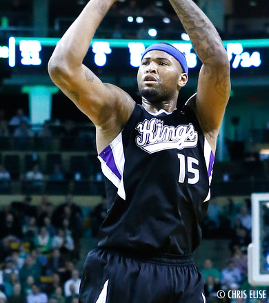 Les Sacramento Kings comptent reconstruire autour de DeMarcus Cousins