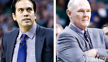 Coach of the Year : un duel entre George Karl et Erik Spoelstra ?