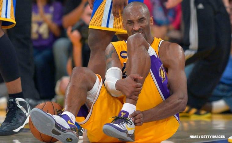 Il y a 7 ans, Kobe Bryant donnait une leçon de courage à la planète basket