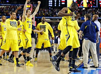 20 ans après, Michigan retourne en finale du Final Four NCAA